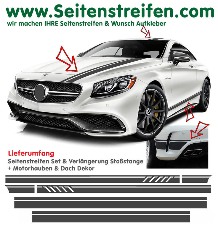 Mercedes Benz C63 Coupe Amg Edition 1 Replika Side