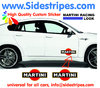 2 Martini Racing Logo - Graphics Decals Sticker Kit - the Logo are 30 cm Long - N° 8005
