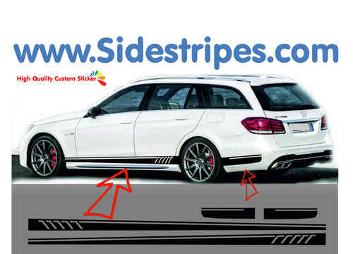 side stripe sticker decal  complete set edition look - N°