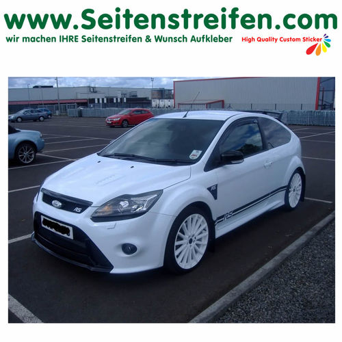 Ford Focus RS - decalsats, bildekaler fullständig set edition look - N° 1053