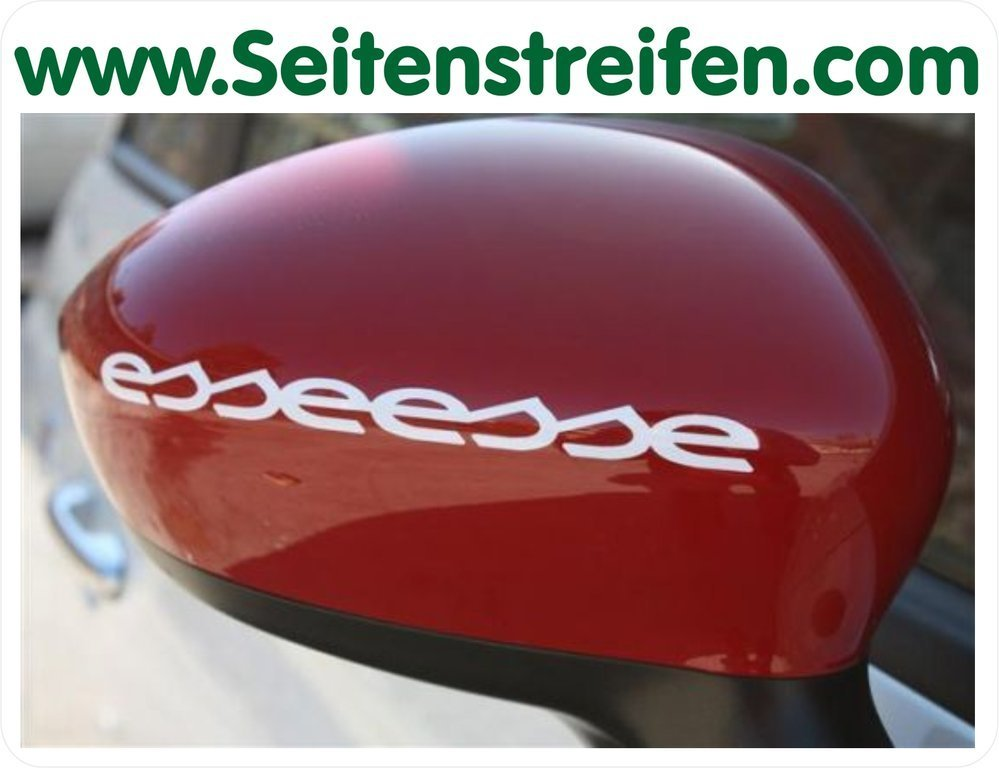 Fiat 500 Abarth esseesse - Mirror Sticker - N° 5137
