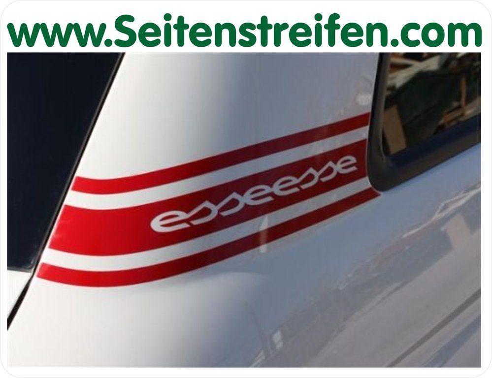 Fiat 500 Abarth esseesse - Side / Rear C-Pillar Sticker - N° 5136