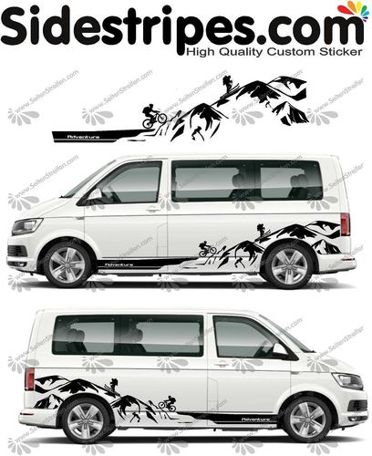 VW Bus T4 T5 T6  -  Adventure Edition Set - U1451
