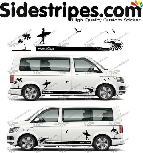 VW Bus T4 T5 T6  - Surf wave edition Set - U5019