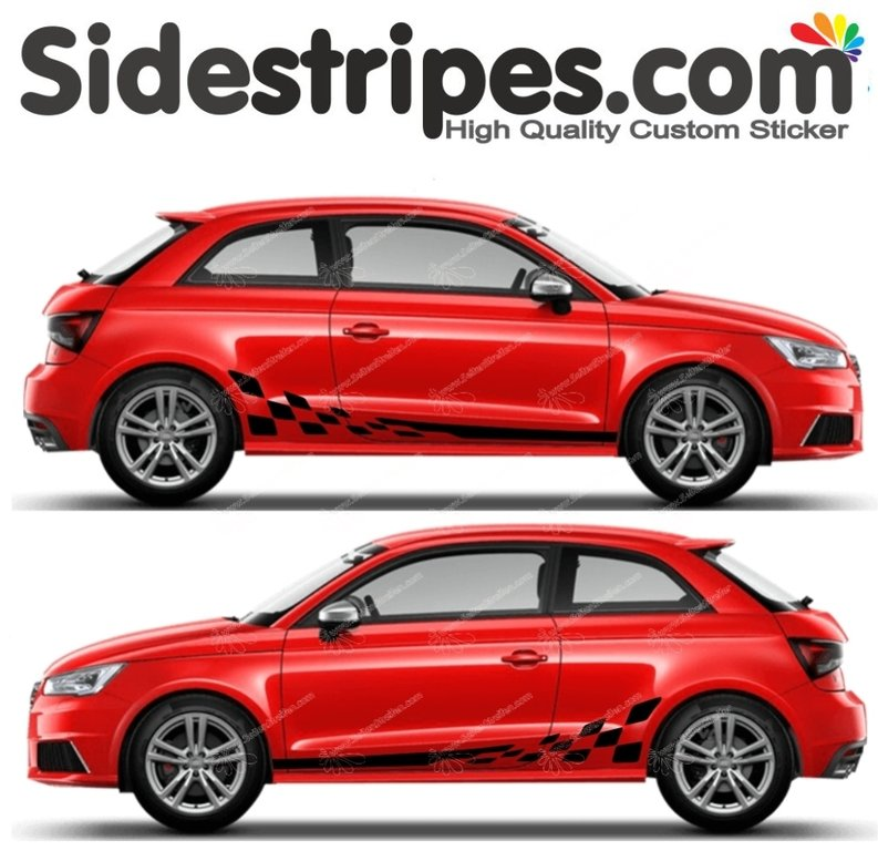 Audi A1 - Checker edition Set - Art.Nr.: 5170