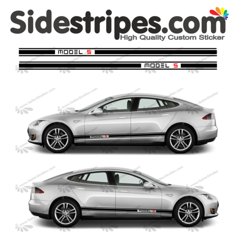 Tesla -  Model S Edition Set - 2 colors - you can choose the color black -  Art.Nr.: U5026