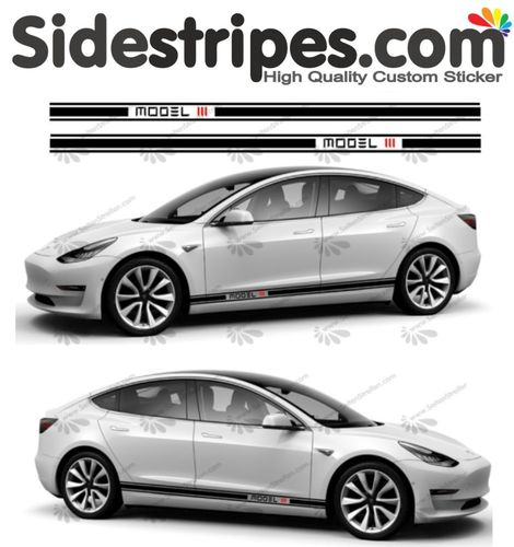 Tesla -  Model III Edition Set - 2 colors - you can choose the color black -  Art.Nr.: U5025