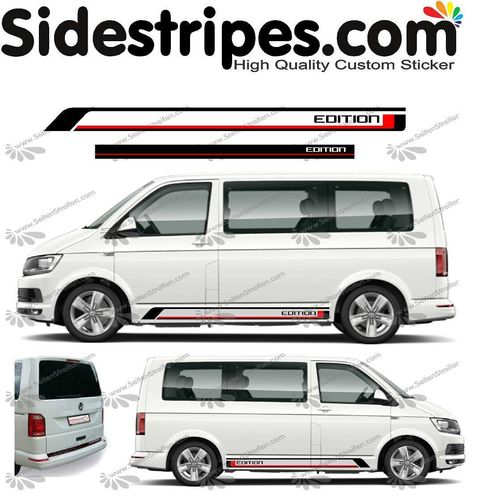 VW BUS T4 T5 T6 - Edition 2019 - bicolor Set - Art. Nr.: U1455