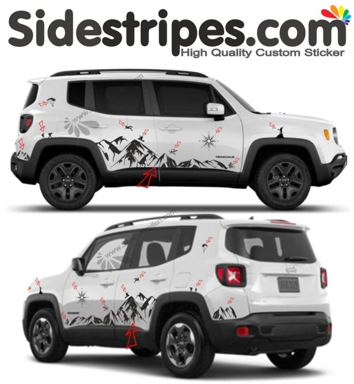 Jeep Renegade - Mountain EDITION 1 - complete set - Art. Nr.: 3922