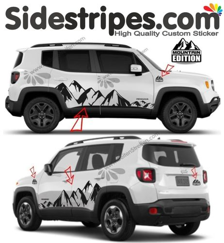 Jeep Renegade - Mountain EDITION 2 - complete set - Art. Nr.: 3923