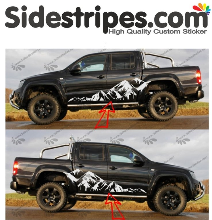VW Amarok -  Mountain Edition Set - Art.Nr.: 7005