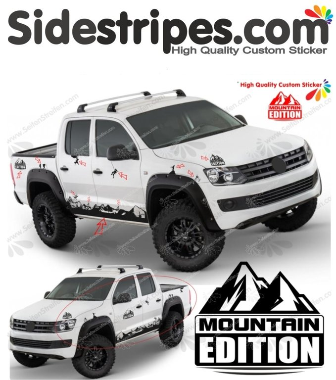 VW Amarok -  Matterhorn Climber Edition Set - Art.Nr.7006