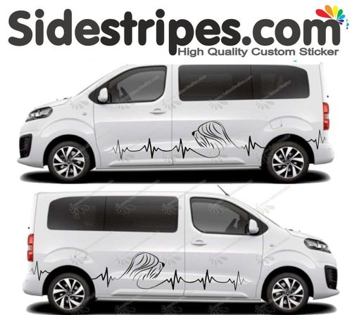 Citroen Spacetourer -  Briard Collie Set - Art.Nr.: U5024
