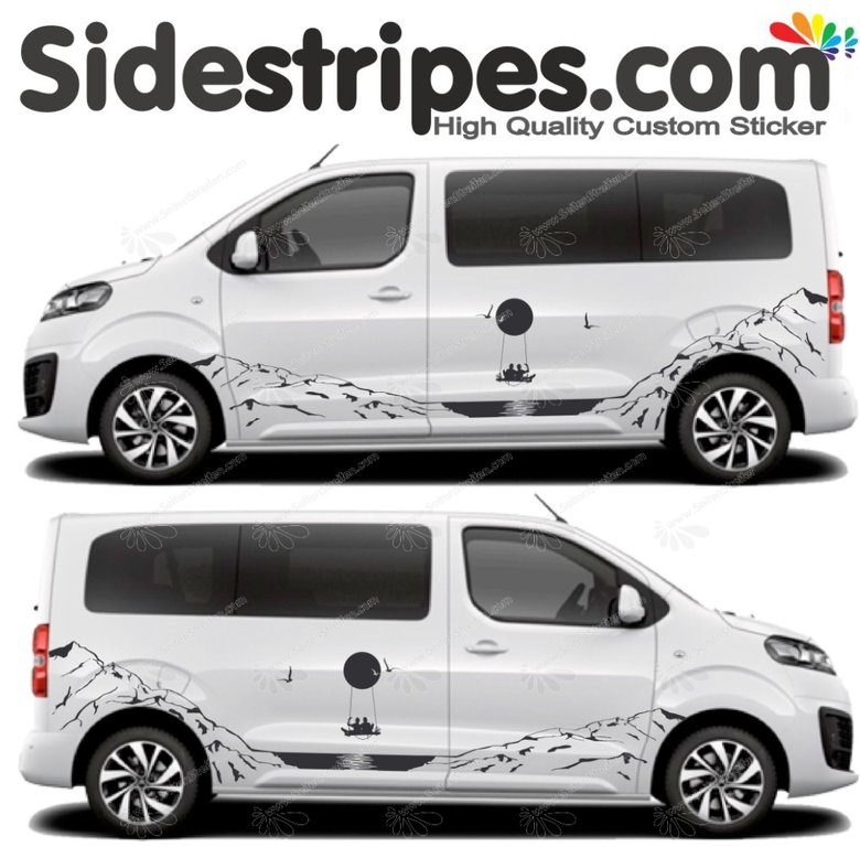 Toyota ProAce & Verso - Beautiful View Edition - Graphics Decals Sticker Kit - N° U5003