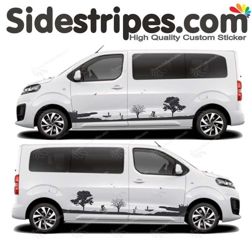 Toyota Proace & Verso - Nature Edition - Graphics Decals Sticker Kit - N° U5002