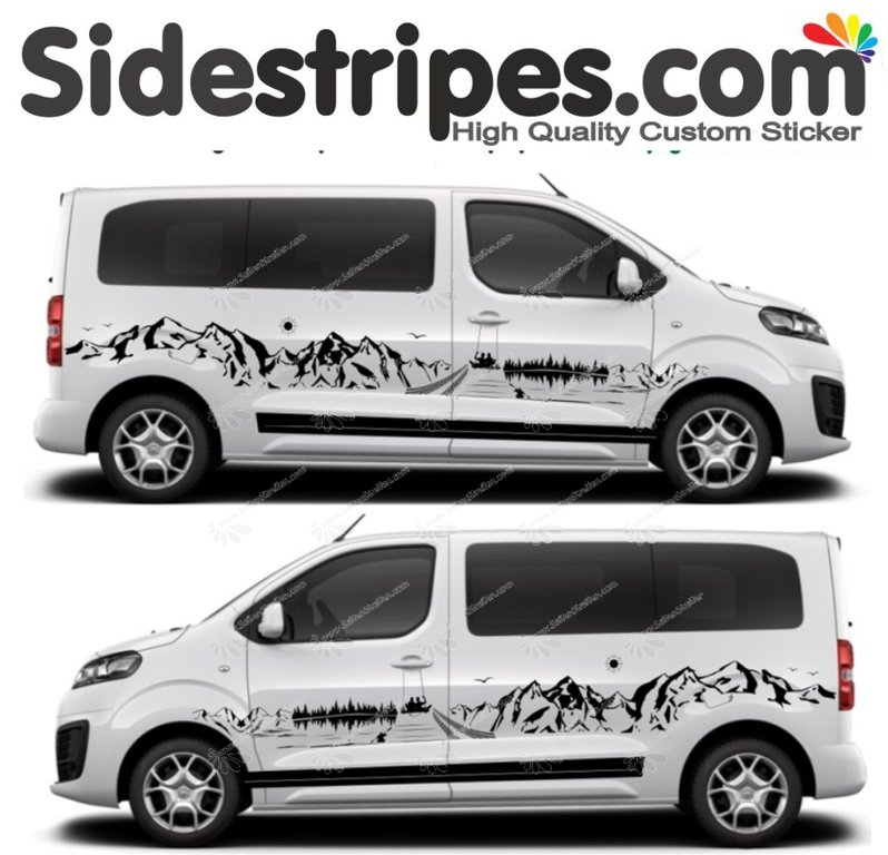 Toyota ProAce & Verso - Roadtrip Edition - Graphics Decals Sticker Kit - N° U7879